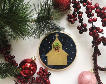 Holy City Christmas Tree Ornament