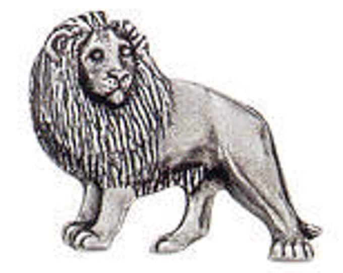 Lion Danforth pewter shank button
