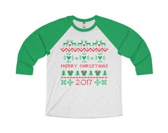 2017 Ugly Sweater Raglan
