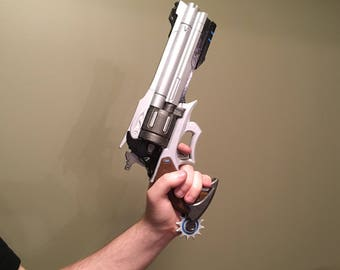 Overwatch McCree's Revolver Prop, 3D Printed and Painted