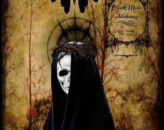 Dark Mother Digital Art Print