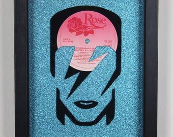 Ziggy Stardust, Vinyl LP Wall Art