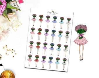 BIRTHDAY/CELEBRATION Planner Stickers/Icons for Erin Condren Planner/Happy Planner/Travelers Notebook/Personal Planner/Functional