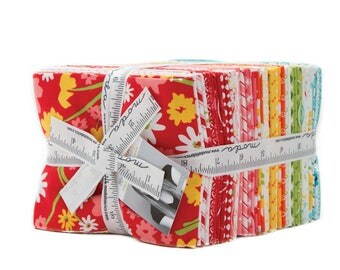 Moda Mama's Cottage 35 fat quarter bundle, cotton fabric, 24050ab by April Rosenthal of Prairie Grass