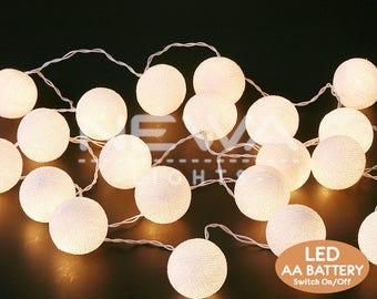 String Lights Etsy - Indoor string lights for bedroom