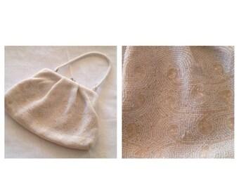 On Sale Vintage Gorgeous Handbeaded Bag