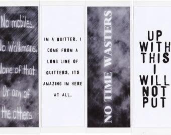 Black Book inspired Bookmarks