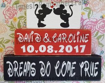 Disney Wedding Blocks