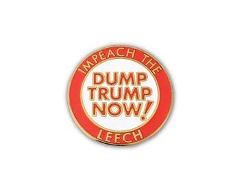 Dump Trump Enamel Pin