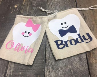 Personalized Tooth Fairy Bag *FREE SHIPPING*