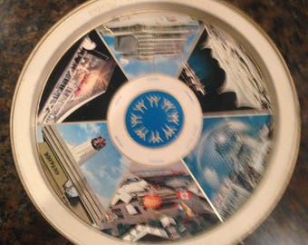 """Expo67 Montreal, commemorative """"Man and his World"""" tray"""