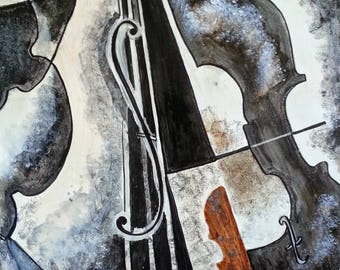 Modern fabric for music lover MUSIC
