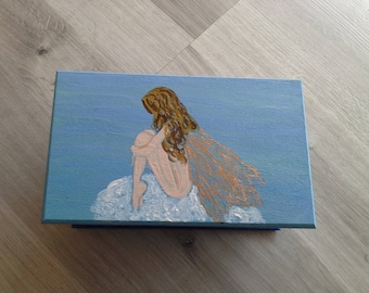 fairy on cloud acrylic box