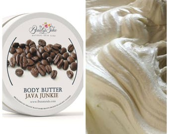 Java Junkie Organic Body Butter - 8 oz