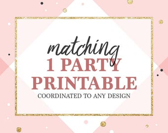 ADD A matching item for your invitation - custom design - Matching thank you cards, Matching favors, Matching tags,