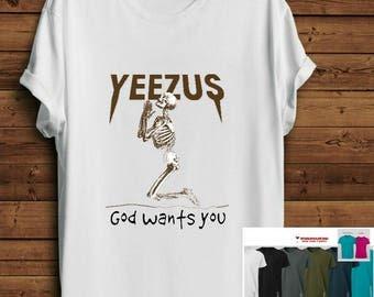 Inspired Womens Yeezus Shirt. Women Yeezus tee. Kanye tshirt. Kanye west shirt. Pop Culture Shirt. Tumblr girls tshirt. Grunge Tumblr tshirt