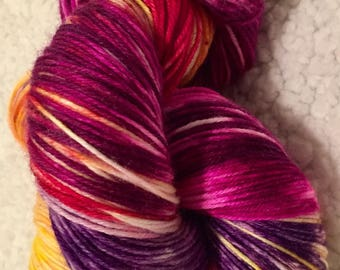 Hand dyed yarn MCN 435 yards