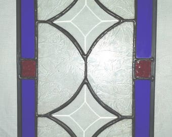 Stained glass Panel with Bevels