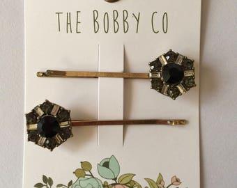 Bobby Pin, Crystal Quartz - Hair Pin - Hair accessories -girl