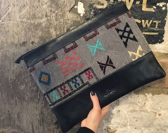 Moroccan Laptop Case - Boujaad & Leather