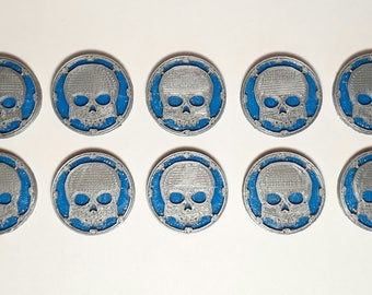 Command Counters - Skull Counters Set (x10)