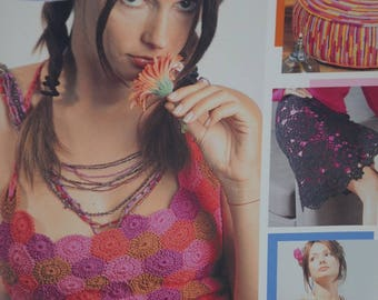 """Book crochet """"26 patterns easy decor and ready to wear"""""""