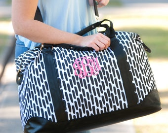 Carolina Night Collection, Weekender, Shoulder Bag, Zip Pouch, Monogrammed Gift, Personalized Gift, FREE Personalization