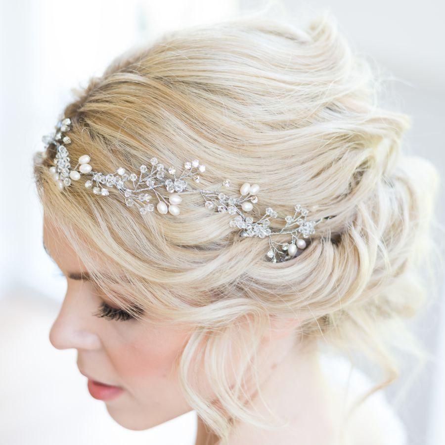 Exquisite Wedding Head Pieces: Exquisite Handmade Bridal Headpieces & Hair By RachelChaprunne