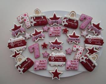 American Girl Cookie Platter - cookies