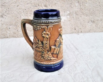 Vintage German Pottery, Gerz steins, ironstone items, West Germany items,