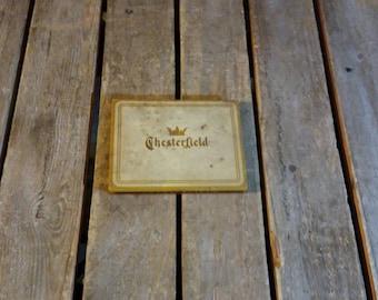 Chesterfield Cigarettes Tin