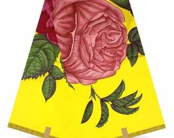 Original Wax Fabric/ African Wax Fabric/ 6 yards whole sell wax/ 3 D wax Fabric