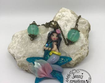 Necklace with Little Mermaid
