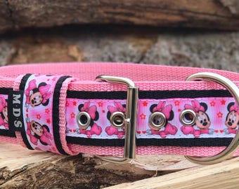 Dog collar - dog - collar strap - Doggy necklace ' Summer - Minnie