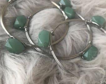 Jade Cuff Silver