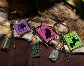 Fantastic Beasts Inspired Key-chains