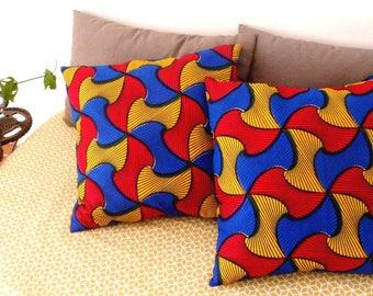 Cushion covers made of wax