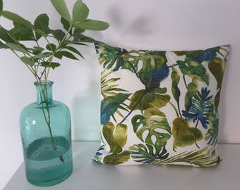 "Cushion cover""Tropical Leaves"""