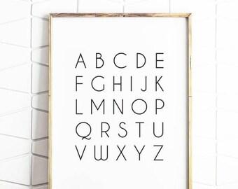70% OFF SALE poster, abc poster, printable alphabet, alphabet poster, alphabet art, alphabet poster, digital poster, kid poster, abc posters