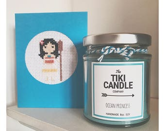 Ocean Princess - Disney Moana Inspired Scented Candle