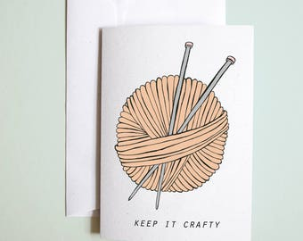 keep it crafty // greetings card // crafty greetings card // birthday card // well done card // congratulations card // just because card