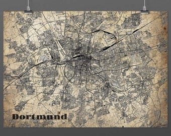 Dortmund DIN A4 / DIN A3 - print - turquoise