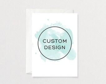 Custom Invitation Design   Customized Printable Invitation
