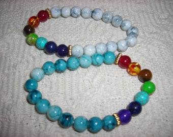 Yoga bracelet, mala meditation bracelet, yoga jewelry