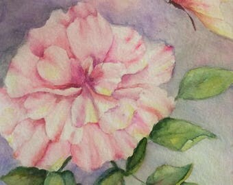 Peony Fantasy (Original watercolor study)