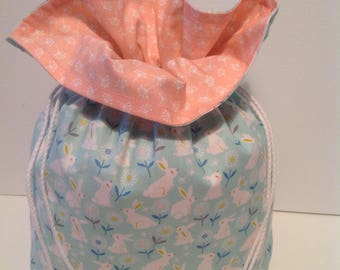 Pretty Drawstring Bag, Cosmetic Bag, Toiletries Bag, Lingerie Bag.