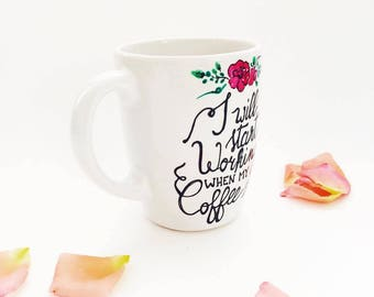 Calligraphy Cup-Coffee