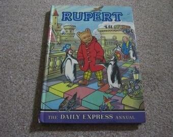 Rupert The Daily Express Annual, 1977, Rupert Bear