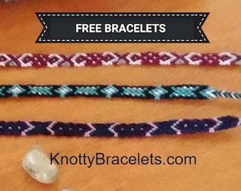 Tribal Pattern : Friendship Bracelet by knottybracelets.com