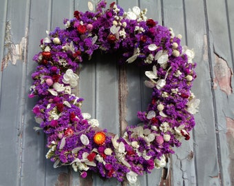 "20"" Dried Flower Wreaths"